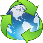 recycle earth logo